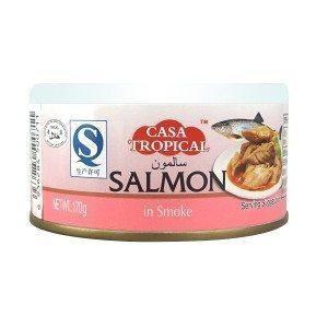 Buy 170g canned salmon in olive oil at wholesale prices