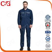 Buy cheap Arc Flash Protective Clothing Cat2 12cal/cm2 arc flash protective clothing from wholesalers