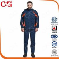 Buy cheap arc flash protective suit fire retardant coverall from wholesalers
