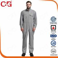 Buy cheap Arc Flash Protective Clothing 8 cal electrical industry arc flash prevention work clothing suit from wholesalers