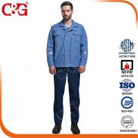 Buy cheap 6 cal/cm2 dupont protera electrical arc flash protection jacket workwear from wholesalers