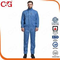 Buy cheap 8 cal/cm2 electric Arc Flash Protective workwear overwear from wholesalers