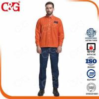 Buy cheap III 33 cal/cm2 Fr Arc Flash Protection Jacket and Pants Suit from wholesalers