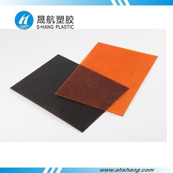China Polycarbonate Solid Sheet Lychee granules