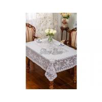 Quality Vinyl Embroidery Lace Table Linen for sale