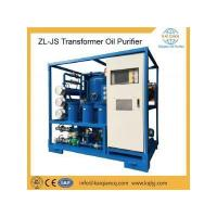 Quality ZL-JS Double Stage Transformer Oil Purifier for sale
