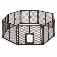Quality Petyard Passage, 8-Panel Pet Containment with Swinging Door for sale
