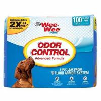 "Quality 100 Ct 22 "" inch X 23"" inch - Four Paws Wee-Wee Odor Control Pads for sale"