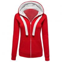 Quality Womens Zip Up Fleece Hoodie Sweater Jacket Active Soft for sale