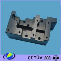 China Non-standard 4-Axis CNC Machining 7075-T6 Aluminum Parts Black Anodized on sale