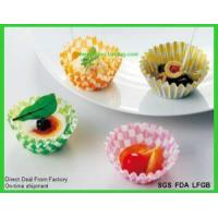 Quality Disposable Paper Baking Cake Moulds Paper Loaf Pans for sale