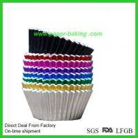 Quality Gold Paper Aluminum Foil Baking Candy Cup for sale