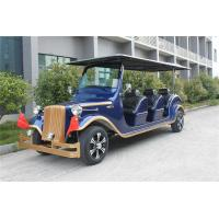 China Battery Operated Custom Electric Golf Carts , 6 Person Classic Motorised Golf Trolley on sale