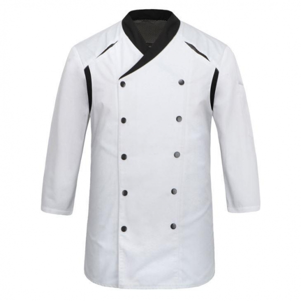 Buy Customizedpoly&cotton High Quality Long Sleeve Chef Jacket For Men at wholesale prices
