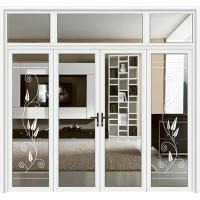 Aluminum doors The royal series flat open - China