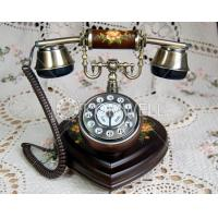 Quality Telephone with painted flowers K112-1h for sale
