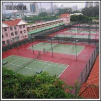 Quality Public Indoor Tennis Courts and Field Club Center Flooring for sale