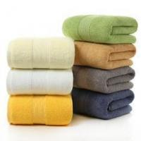China Ultra - Absorbent Luxury Cotton Towels , Soft Spa Micro Bath Towel Set on sale