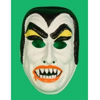 China Childs Dracula Vampire Halloween Costume Mask Kids Horror Monster Vintage on sale