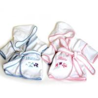 Quality Personalized Baby Gifts Ultimate Terry Velour Personalized Hooded Bathrobes for Babies & Kids for sale