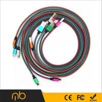 China MB Hotselling Samrtphone Micro USB Cable, High Speed Nylon Braided Micro USB Cable/ on sale