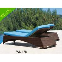 China Rattan garden furniture Outdoor Chaise Lounge Chair on sale