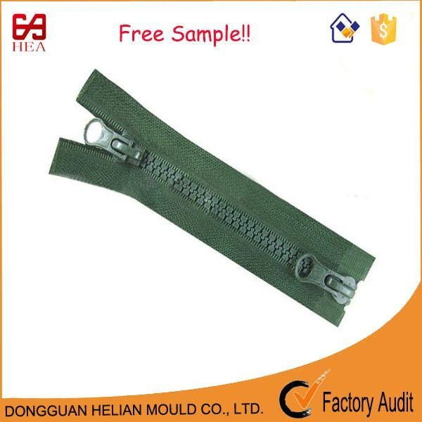 Buy 2 Way Separating Zipper Double Zipper for Field Jackets at wholesale prices
