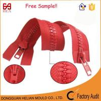 Buy cheap Plastic Zipper Double Sliders 2 Way Open End Zipper for Tent from wholesalers
