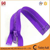 Buy cheap open end plastic zipper derlin zipper for jackets from wholesalers