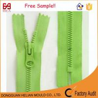Buy cheap Plastic Zipper with Derlin Teeth Size #5 Close End Derlin Zipper from wholesalers