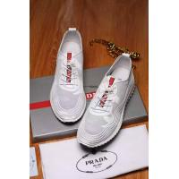 China Mens Prada Sport white lace up Shoes Sneakers on sale