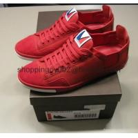 China Men shoes Louis Vuitton Slalom Sneakers red LV mens low top fashion mens Shoes online sale on sale
