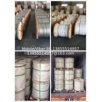 China 3/8' 7 strands hot dipped galvanized steel wire as per ASTM A 475 EHS on sale
