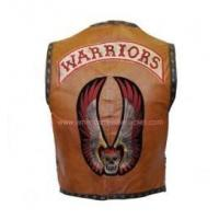 China The Warriors Brown Leather Vest on sale