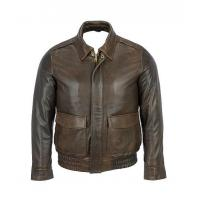 China Macan Big and Tall Leather Motorcycle Jacket on sale