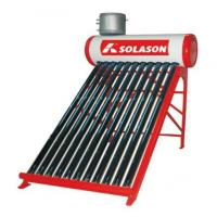 China Non pressured solar water heater--One pipe(inlet outlet) on sale