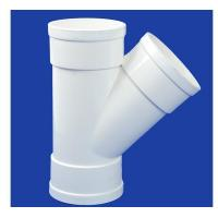 Quality PP Water Supply Fitting Product  Y Tee for sale