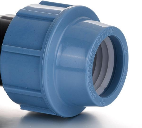 China PP Compression Fitting Product  Female Elbow