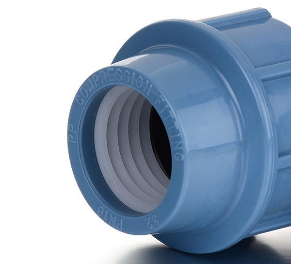 China PP Compression Fitting Product  Coupling