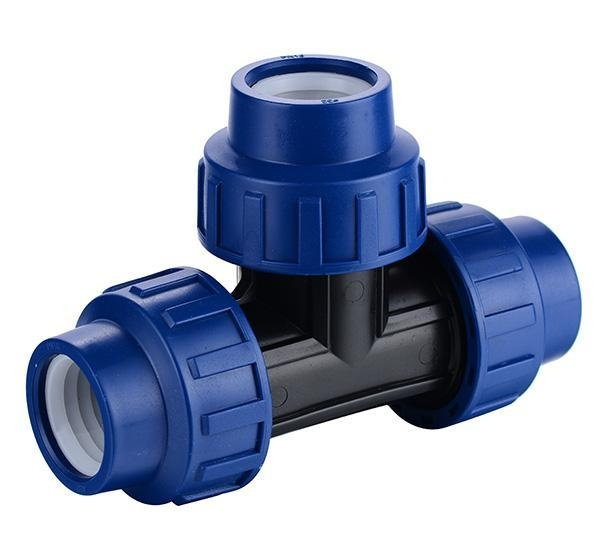 China PP Compression Fitting Product  Tee