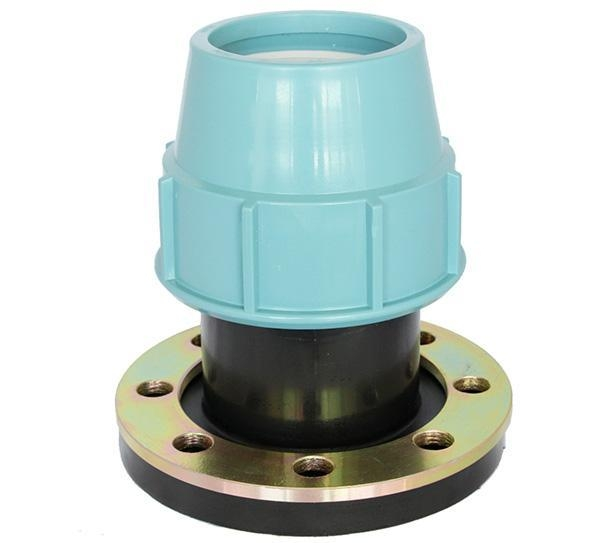 China PP Compression Fitting Product  Flange Adapter
