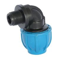 Quality PP Compression Fitting Product  Male Elbow for sale