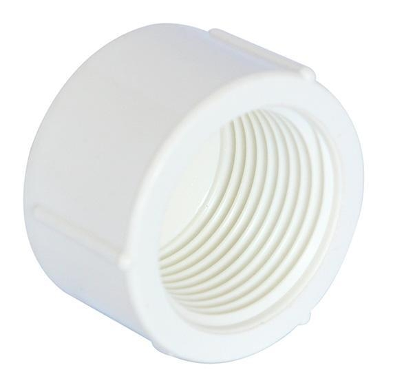 China PP Compression Fitting Product  Female End Cap
