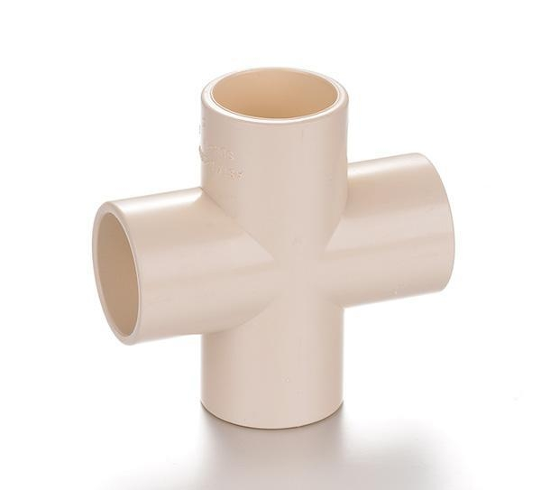 China PP Compression Fitting Product  Cross Tee