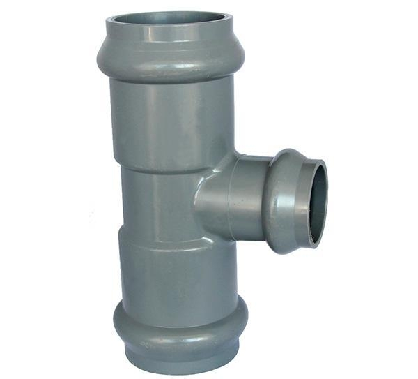 China PP Compression Fitting Product  Reducing Tee