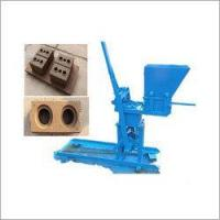 China Hand Press Manual Interlocking Brick Making Machine on sale