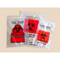 Autoclave biohazard bags Lab Specimen Transport Bags/Zip Bags With Pocket