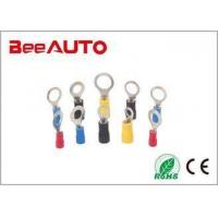 Quality RV O Type Insulated Spade Terminals Tin Plated High Purity Copper Anti - Corrosion for sale