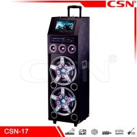 Quality Dual woofer party speaker CSN-17 for sale