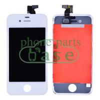 Quality For Apple iPhone 4G/4S Original A++ LCD Screen Replacement with Touch Digitizer and Frame-White for sale